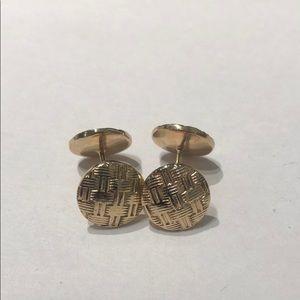 Other - 14k gold cufflinks